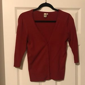 14th & Union 1/2 sleeve cardigan - S